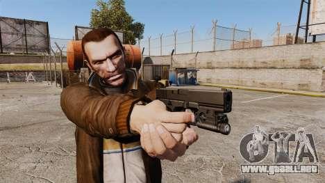 Pistola Glock 20 para GTA 4 segundos de pantalla