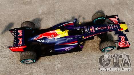 Coche, Red Bull RB9 v1 para GTA 4 visión correcta