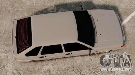 Vaz-2114 Bunker para GTA 4 visión correcta
