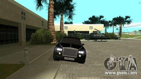 Rolls-Royce Phantom para la visión correcta GTA San Andreas