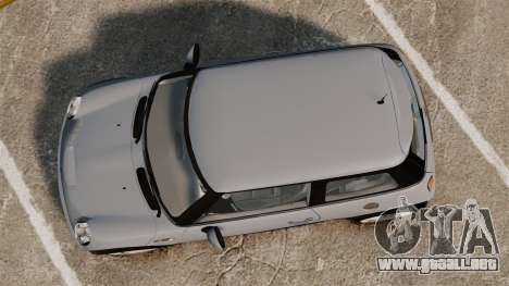 Mini Cooper S 2008 v2.0 para GTA 4 visión correcta