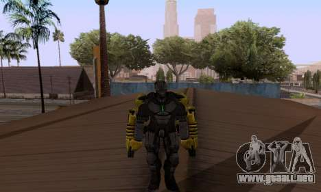 Skins Pack - Iron man 3 para GTA San Andreas tercera pantalla