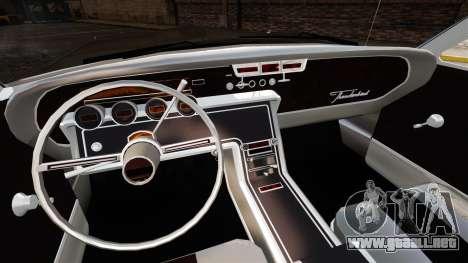 Ford Thunderbird 1964 para GTA 4 vista interior