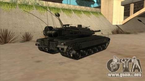Merkava IV para la visión correcta GTA San Andreas