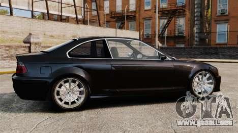 BMW M3 Coupe E46 para GTA 4 left