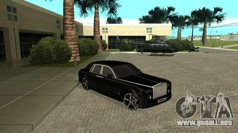 Rolls-Royce Phantom para GTA San Andreas