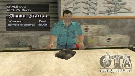 Full Weapon Pack para GTA San Andreas séptima pantalla