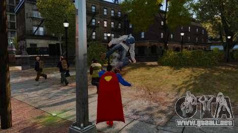 Guión de Superman para GTA 4 segundos de pantalla