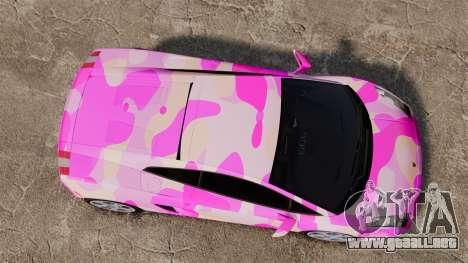 Lamborghini Gallardo 2005 [EPM] Pink Camo para GTA 4 visión correcta