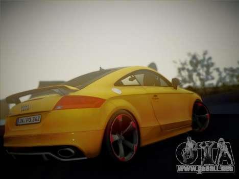 Audi TT RS 2013 para la visión correcta GTA San Andreas