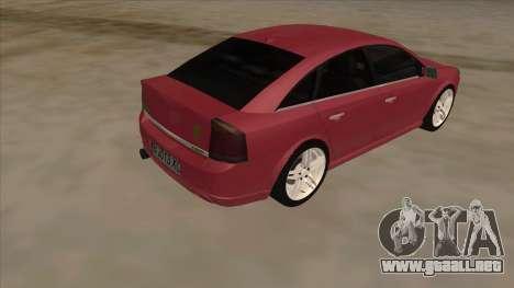 Opel Vectra C Irmscher para la visión correcta GTA San Andreas