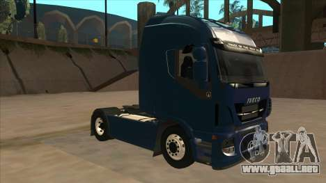 Iveco Stralis HI-WAY para GTA San Andreas left