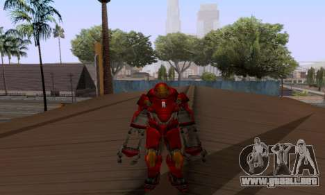Skins Pack - Iron man 3 para GTA San Andreas sexta pantalla