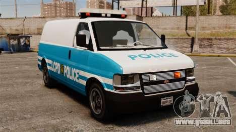 LCPD Police Van para GTA 4