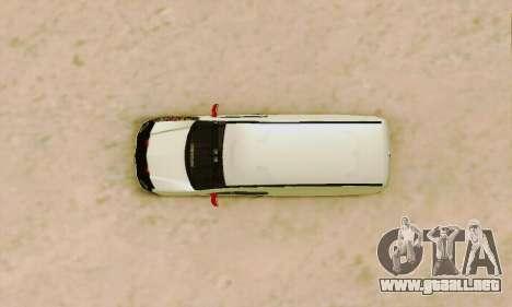 Renault Kangoo para vista lateral GTA San Andreas