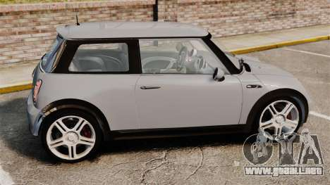 Mini Cooper S 2008 v2.0 para GTA 4 left