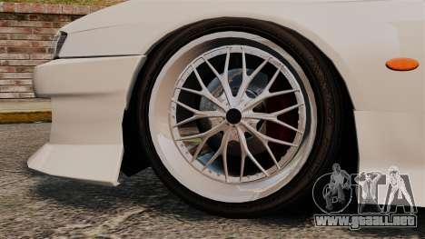 Nissan Silvia S14 para GTA 4 visión correcta