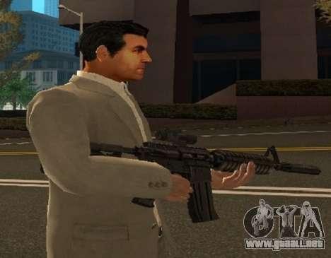 Piel de Michael de GTA V para GTA San Andreas tercera pantalla