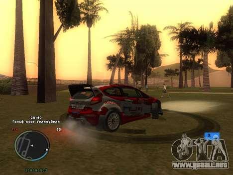 Ford Fiesta RS WRC para el motor de GTA San Andreas