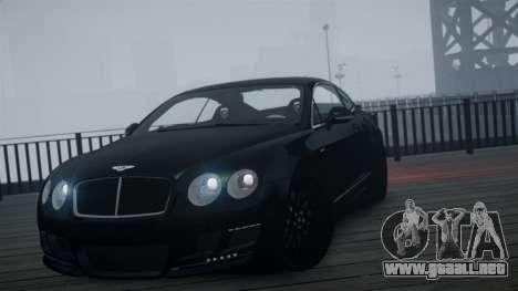 Bentley Continental GT Hamann Imperator para GTA 4 visión correcta