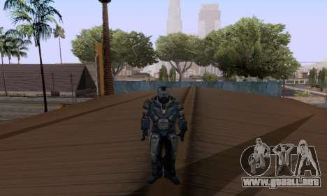 Skins Pack - Iron man 3 para GTA San Andreas quinta pantalla