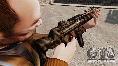 MP5SD subfusil ametrallador v7 para GTA 4 segundos de pantalla