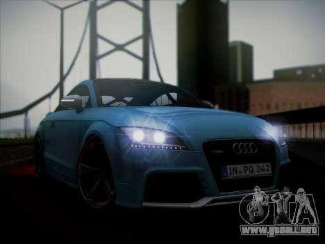 Audi TT RS 2013 para GTA San Andreas vista posterior izquierda