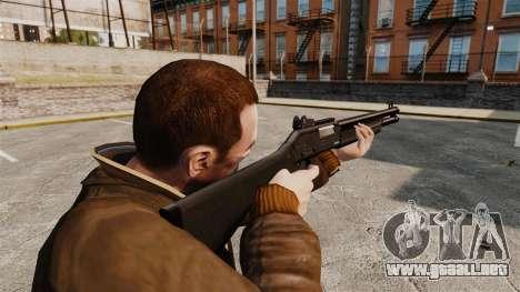 Táctica escopeta Fabarm SDASS fuerzas Pro v1 para GTA 4 segundos de pantalla