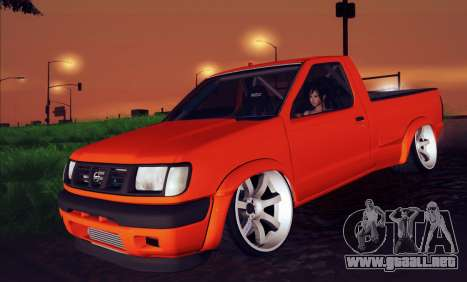 Nissan Frontier D22 para la visión correcta GTA San Andreas
