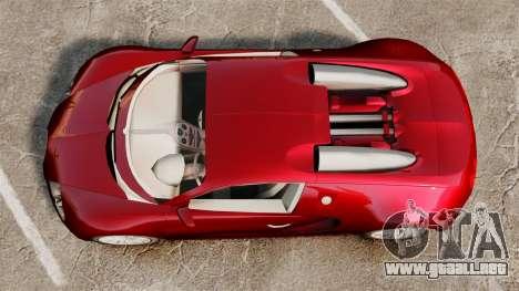 Bugatti Veyron 16.4 para GTA 4 visión correcta