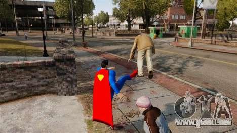 Guión de Superman para GTA 4 tercera pantalla