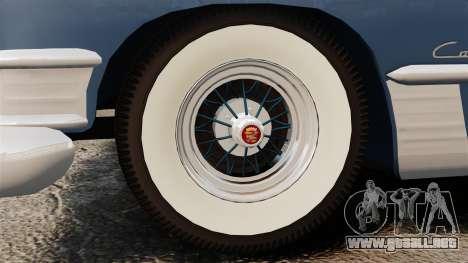 Cadillac Series 62 convertible 1949 [EPM] v3 para GTA 4 vista hacia atrás