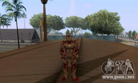 Skins Pack - Iron man 3 para GTA San Andreas twelth pantalla