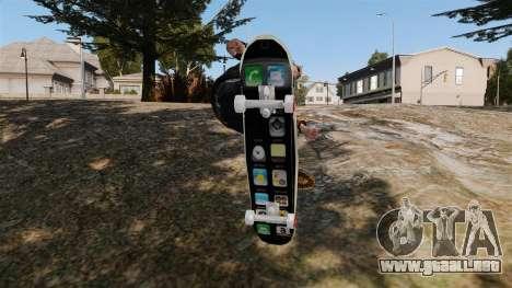Patín de iPhone para GTA 4 visión correcta