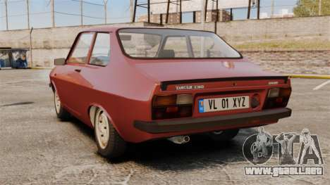 Dacia 1310 Sport v1.1 para GTA 4 Vista posterior izquierda