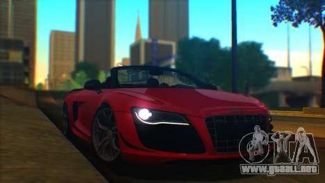 ENBSeries by egor585 V2 para GTA San Andreas segunda pantalla
