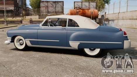 Cadillac Series 62 convertible 1949 [EPM] v3 para GTA 4 left