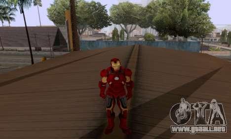 Skins Pack - Iron man 3 para GTA San Andreas séptima pantalla