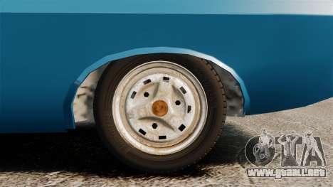 Dacia 1310 Sport v1.2 para GTA 4 vista hacia atrás