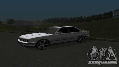 BMW 535i para GTA San Andreas left