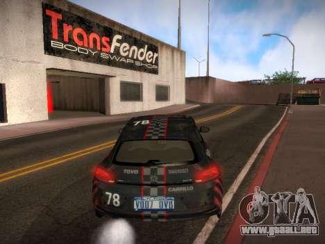 Volkswagen Scirocco para las ruedas de GTA San Andreas