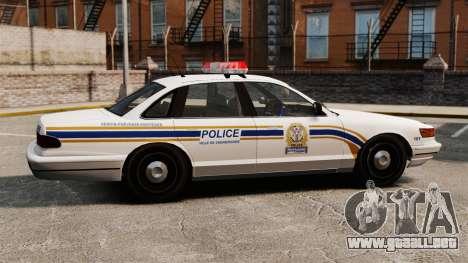 Policía de Sherbrooke para GTA 4 left