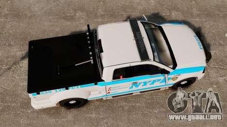 Ford F-150 v3.3 NYPD [ELS & EPM] v1 para GTA 4 visión correcta