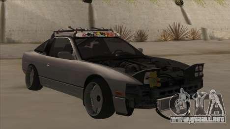 Nissan 240SX Rat para GTA San Andreas left