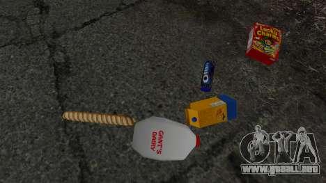 Nuevos productos alimentarios para GTA 4