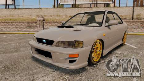 Subaru Impreza WRX STI 1999 [Final] para GTA 4