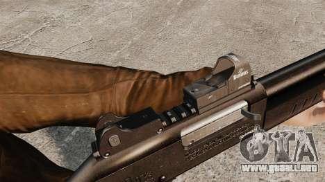 Táctica escopeta Fabarm SDASS fuerzas Pro v4 para GTA 4