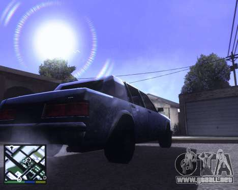 ENB for low PC para GTA San Andreas tercera pantalla