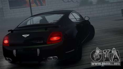Bentley Continental GT Hamann Imperator para GTA 4 vista hacia atrás