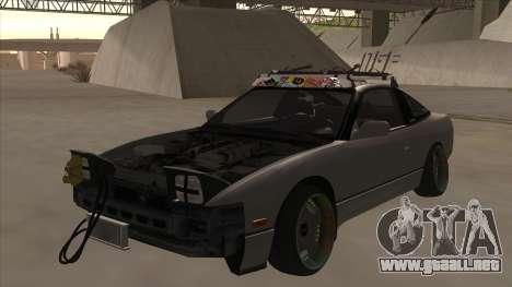 Nissan 240SX Rat para GTA San Andreas